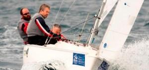Austin O'Carroll and Paralympic Sonar Crew