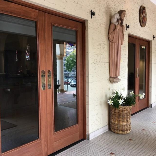 Our New Vestibule Doors