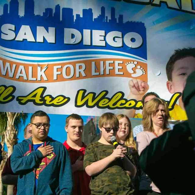 St. Joseph Cathedral Supports San Diego Walk for Life 2021