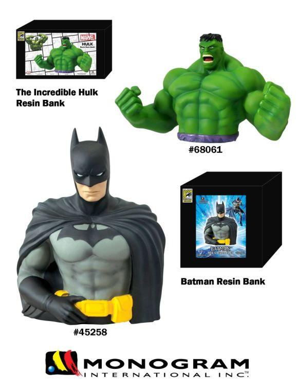 Monogram SDCC 2013 Exclusive Resin Banks