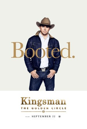 Kingsman Golden Circle karakterposters Agent Tequila