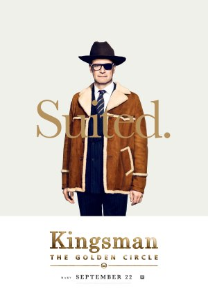 Kingsman Golden Circle karakterposters Harry Hart