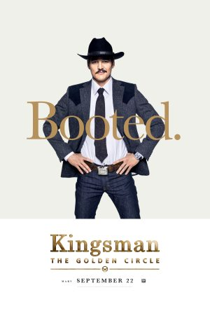 Kingsman Golden Circle karakterposters Agent Whiskey
