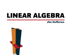 Linear Algebra – Jim Hefferon