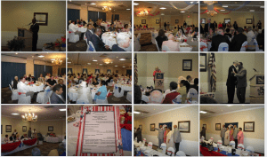 Collage of Hero Luncheon Pictures