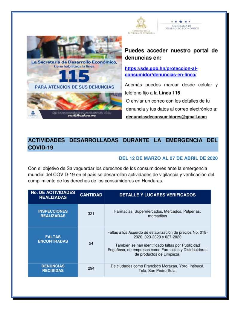 Boletin Informativo Marzo y Abril covid19 3