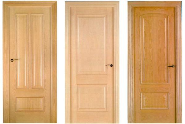 Как сделать деревянную дверь: за и против