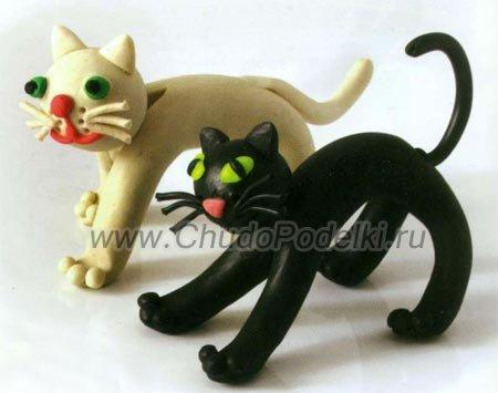 Как сделать животных из пластилина: домашних, как в ...