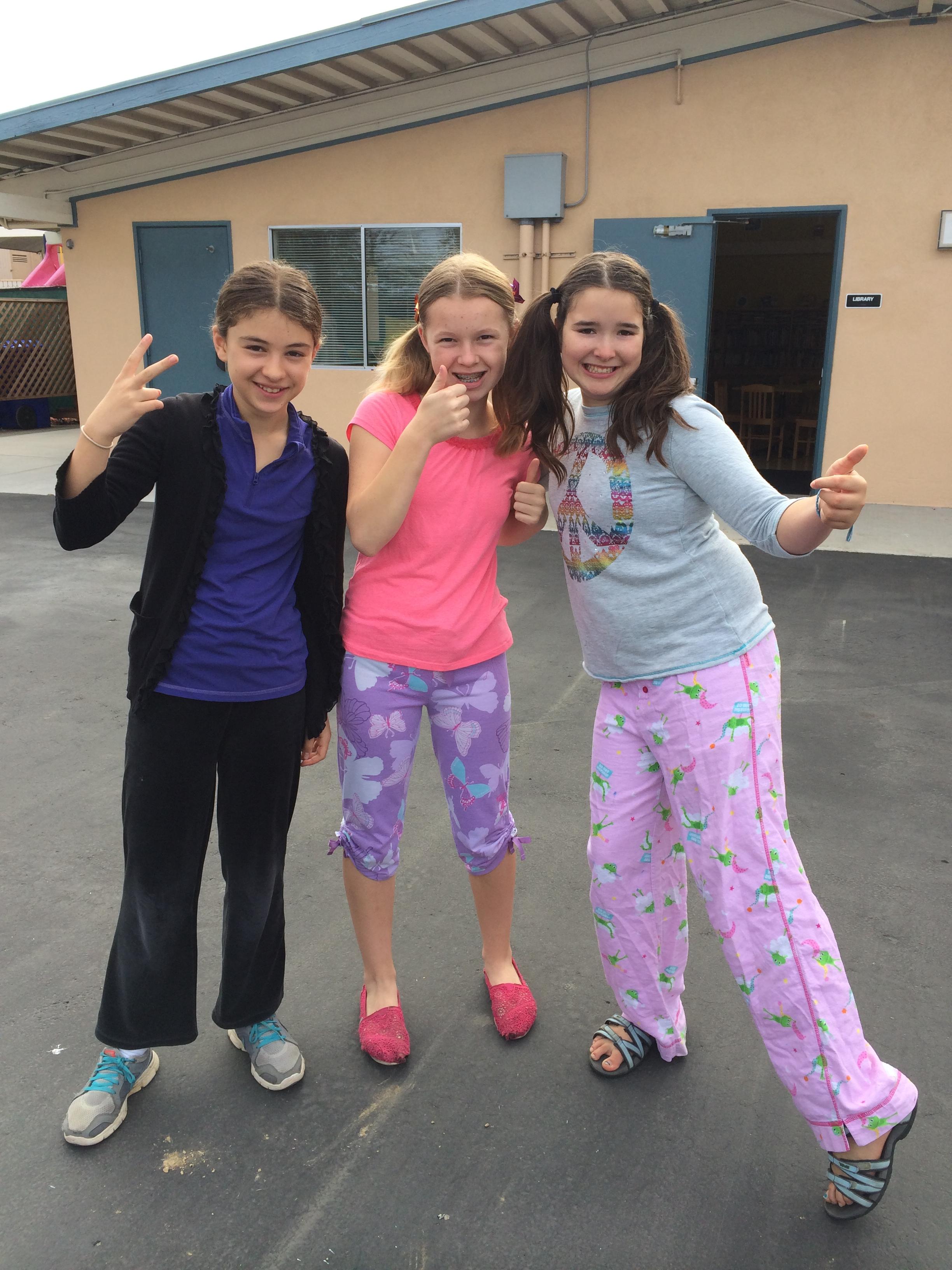 Pajama Day And Breakfast Potluck April 2