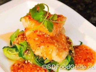 美食轩(Del Mar Rendezvous)这道菜用的是上等的智利鳕鱼