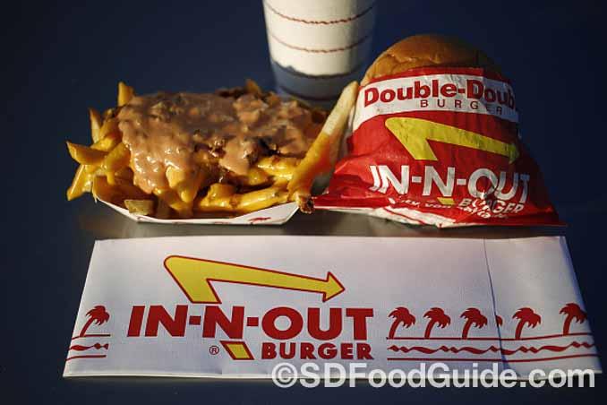 总部位于加州尔湾(Irvine, CA)的In-N-Out汉堡连锁店拥有大量粉丝。