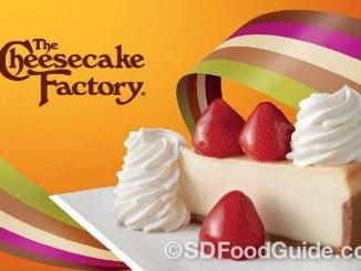 Cheesecake Factory荣获2017年度最佳美式休闲餐厅品牌。
