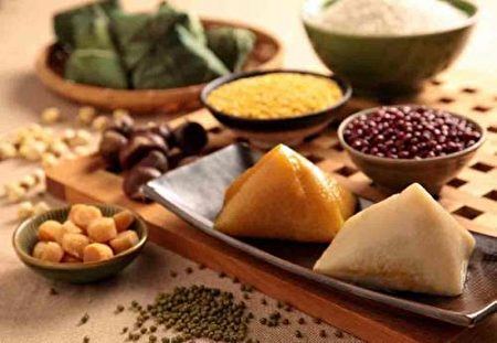 山东黄米粽子算是资格最老的粽子。(网络图片)