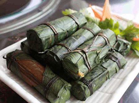 具有中华少数民族风格的云南粽。(网络图片)