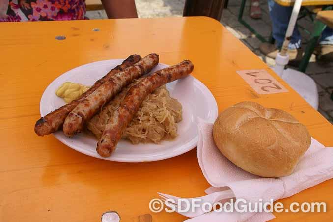 纽伦堡香肠是德国纽伦堡的传统美食。