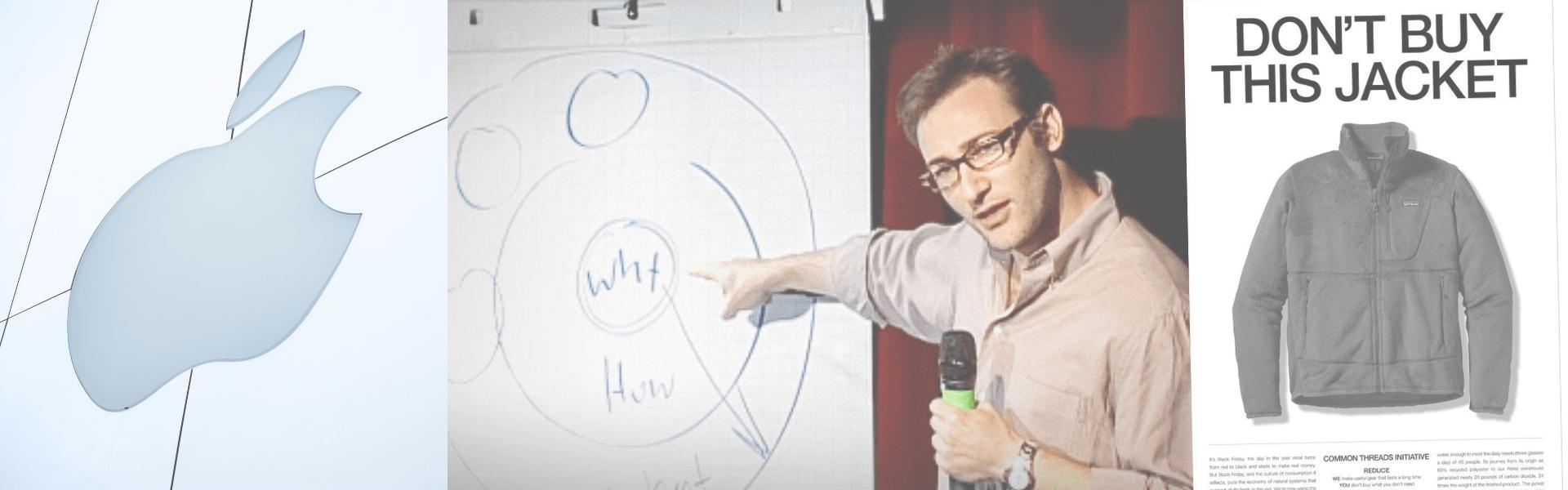 「人を動かすマーケティング:ゴールデンサークル理論」のアイキャッチ画像