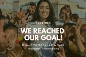 DECADE OF WOMEN ANNOUNCES YEAR-END MATCH GRANT FOR YEZIDI WOMEN AND GIRLS EXCEEDS GOAL