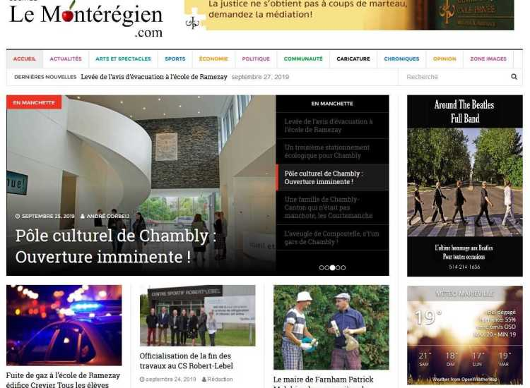 Journal le monteregien