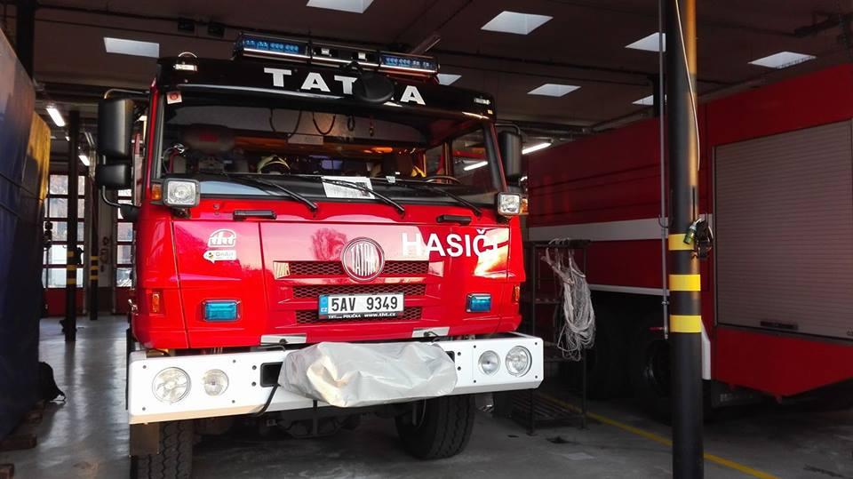 Odborná stáž našich hasičů