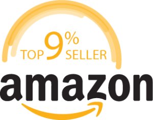 Amazon 9 percent logo with transparent background.