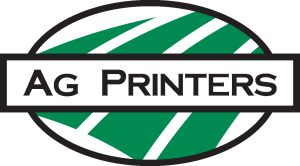 AG Printers logo.