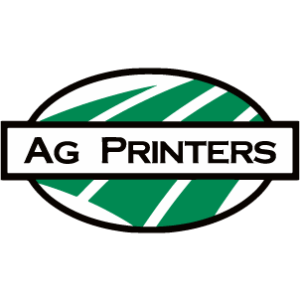 AG Printers icon logo with transparent background.