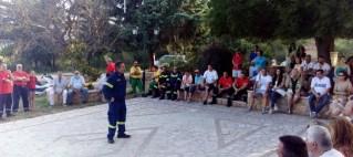 ΜΑΚΙΠ – Συνάντηση με τον διοικητή του 6ου Πυροσβεστικού σταθμού