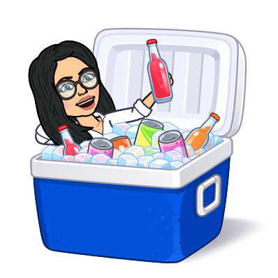 chilling in a cooler