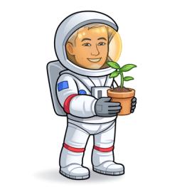 space suit plant
