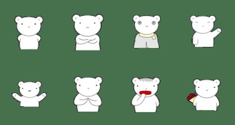「Bearly」のLINEスタンプ一覧