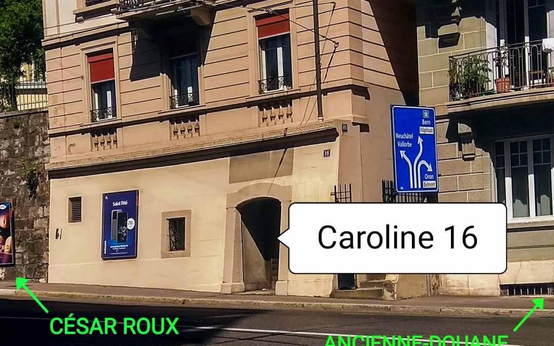 Portes ouvertes – Caroline 16