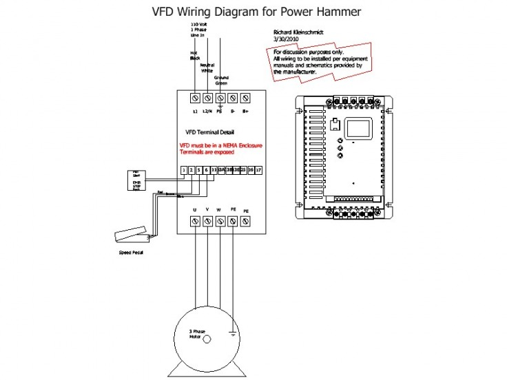 VFD Wiring Diagram  SD Metalworks