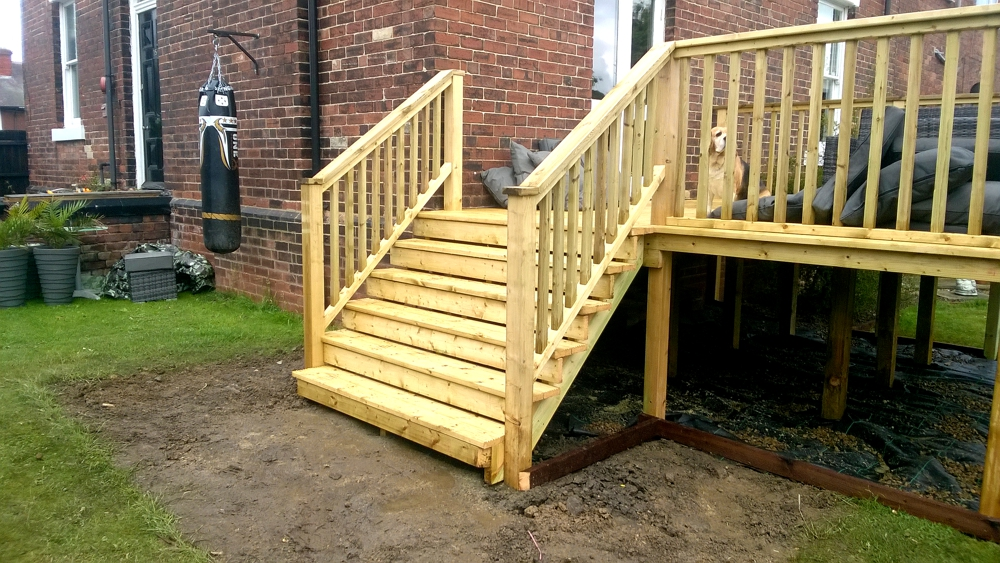Stilted decking wakefield 2