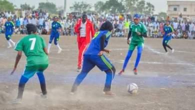 اول مباراة لكرة القدم النسائية بالقضارف