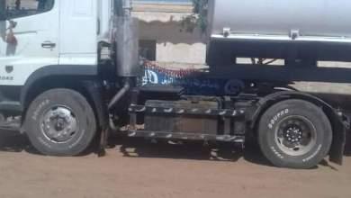 الشرطة الأمنية تضبط عدد10000 جالون بنزين مدعوم بحوزة متهم قام بعرضها للبيع