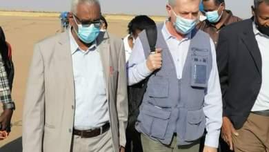 المفوض السامي للأمم المتحدة لشؤون اللاجئين يزور السودان