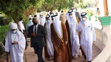 وزير الثقافة القطري يعزي في الراحل الصادق المهدي