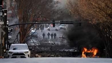 انفجار بمدينة ناشفيل الأمريكية والشرطة تتحدث عن عمل متعمد
