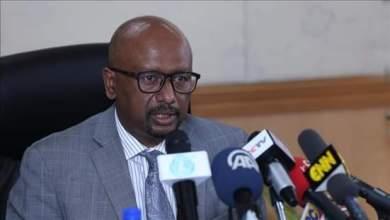 وزير المياه والري والطاقة الإثيوبي يصل البلاد
