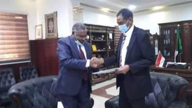 وزير الزراعة والموارد الطبيعية بروفيسور الطاهر إسماعيل محمد حربي