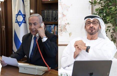 نتنياهو : ابن زايد تطوع لدعم اقتصاد إسرائيل بـ12 مليون دولار