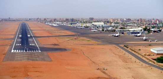 اغلاق مدرج مطار الخرطوم للصيانة بعد غد الثلاثاء