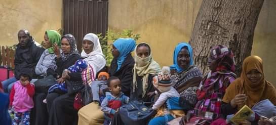 الإغاثة عبر العالم تبدأ توزيع مواد غذائيةللاجئين من جنوب السودان