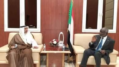 د. جبريل والقبندي يبحثان زيادة الاستثمارات الكويتية بالسودان