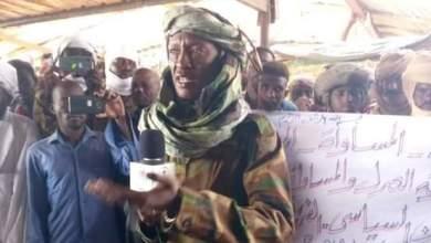الفريق دكتور سليمان صندل، الأمين السياسي لحركة العدل والمساواة السودانية رئيس ملف الترتيبات بالحركة