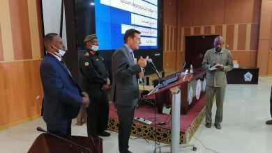 سفراء الاتحاد الاوربي بالخرطوم يزورون اكاديمية نميري العسكرية العليا