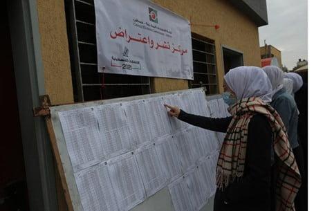 36 قائمة سجلت رسميا لخوض الانتخابات الفلسطينية (أسماء)