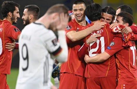 مفاجأة.. مقدونيا تطيح بألمانيا في عقر دارها بتصفيات المونديال