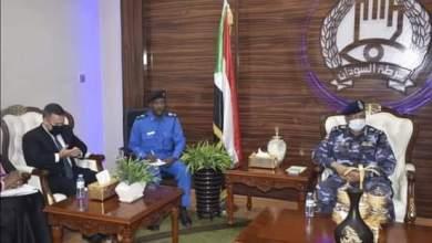 مدير عام الشرطة يلتقي الملحق الأمني للسفارة الأمريكية بالخرطوم