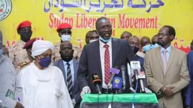 الدبيلو يستقبل رئيس حركة تحرير السودان مصطفى تمبور